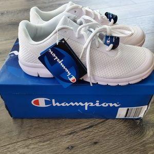 NIB Champion white sneakers 8.5